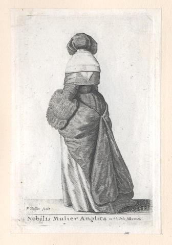 HOLLAR (WENCESLAUS) Theatrum mulierum, sive varietas atque differentia habituum fœminei sexus, 1643 [but later], sold as a collection of plates