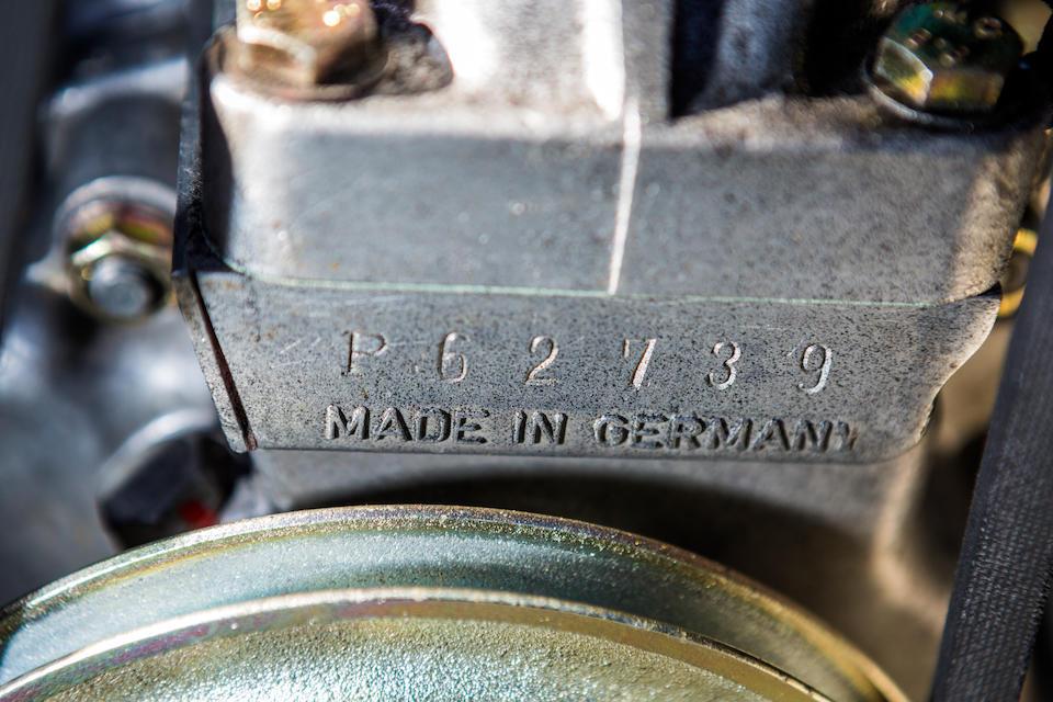 Delivered new to Belgium,1963 APAL-Porsche  1600GT Coupé  Chassis no. 1250736 Engine no. 62739