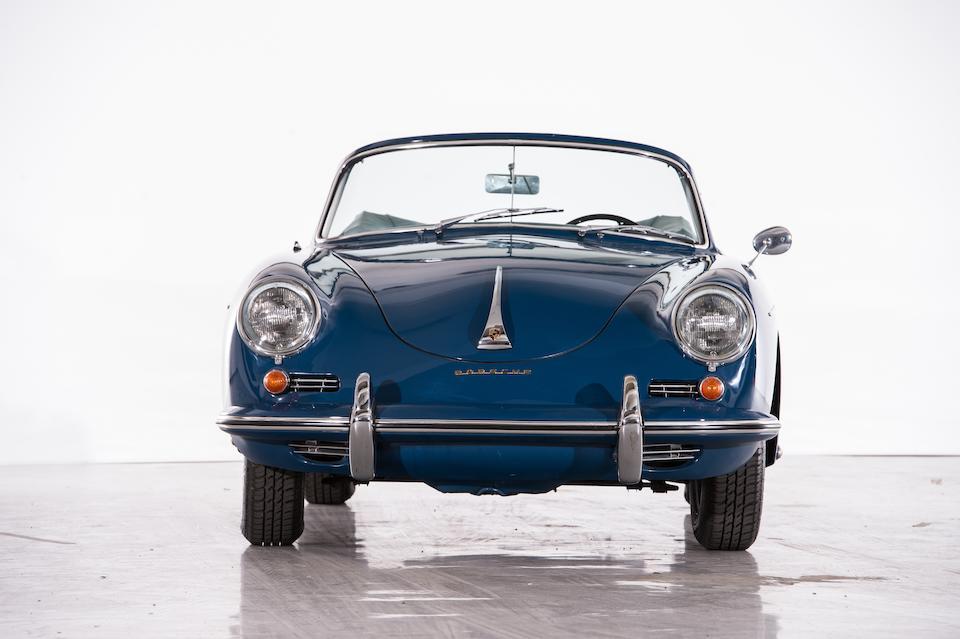 1961  Porsche 356B T5 1600 Super Cabriolet   Chassis no. 154828 Engine no. 605088