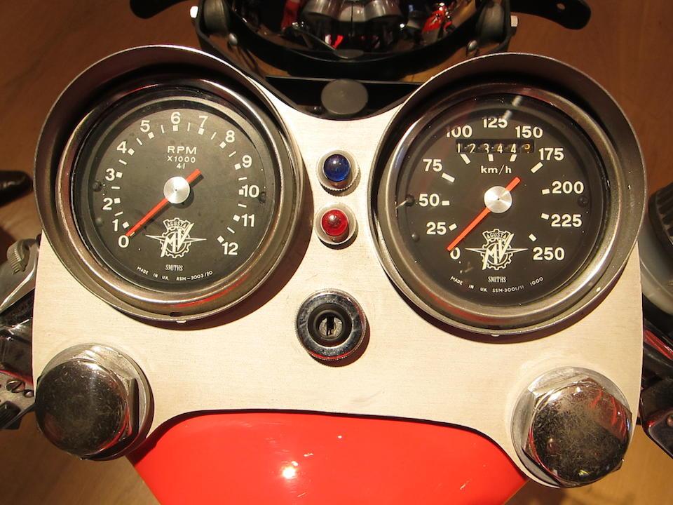 c.1974 MV Agusta 750S Frame no. MV4C75*214 0544 Engine no. 214 0529