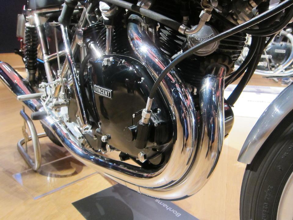 1968/2004 Egli-Vincent 998cc Frame no. EV461 Engine no. F10AB/1B/EV451