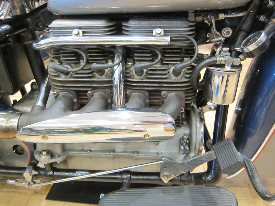 1940 Indian 78ci Four 440 Frame no. None visible Engine no. DDO570B