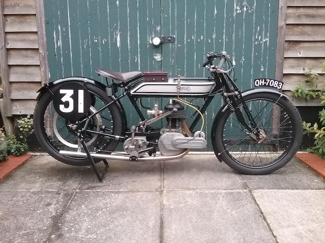 Ex-J Shaw, 1921 TT,1921 Norton 490cc Model 16H Racing Motorcycle Frame no. 3595 Engine no. 6173