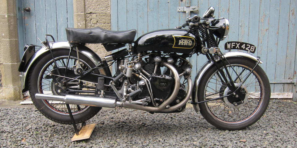 1948 Vincent-HRD 998cc Black Shadow Series-B Frame no. R3273B Engine no. F10AB/1B/1283
