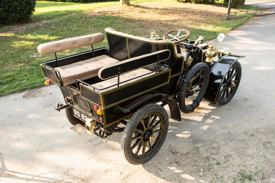 Formerly owned by noted Renault collector George Dorrington,1903 Renault Type N-C 10hp Two Cylinder Wagonette  Chassis no. 227