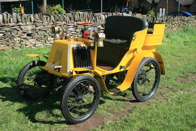 1900 Renault 3½hp Type C Single-cylinder Rear-entrance Tonneau  Chassis no. 1697