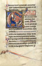 ILLUMINATED MANUSCRIPT PSALTER, in Latin, ILLUMINATED BY AN ARTIST FROM THE SOISSONS ATELIER, Paris, c.1230-1240