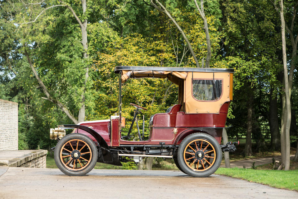 1904 Renault Type N-B 14/20hp Four-cylinder Swing-seat Tonneau  Chassis no. 3388