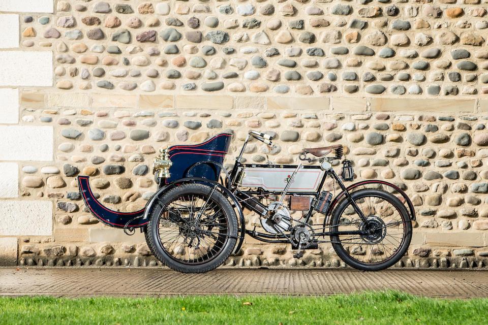 1903 Humber 2¾hp Olympia Tandem Forecar  Chassis no. 100070
