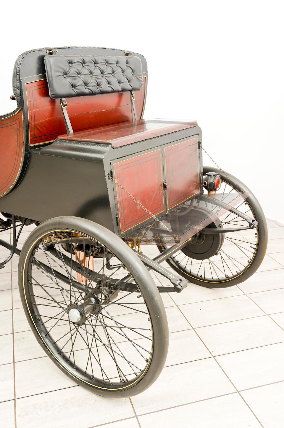 c.1897 Hart Steam Victoria Four-Seater Dos-à-Dos