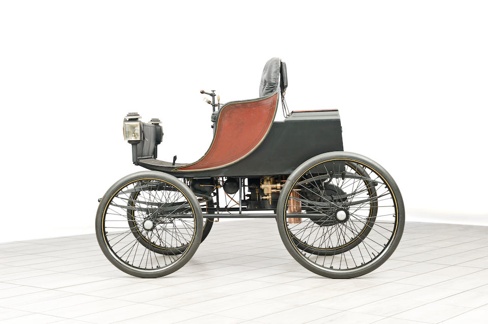 c.1897 Hart Steam Victoria Four-Seater Dos-à-Dos
