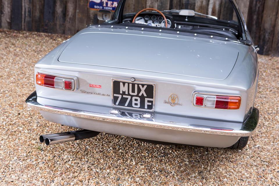 1968 Maserati Mistral 4000 Spyder  Chassis no. AM109SA1 707
