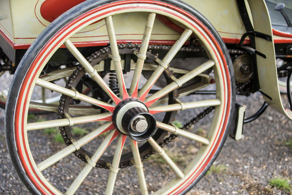1896 Raynaud 8hp Twin-Cylinder Vis-a-vis