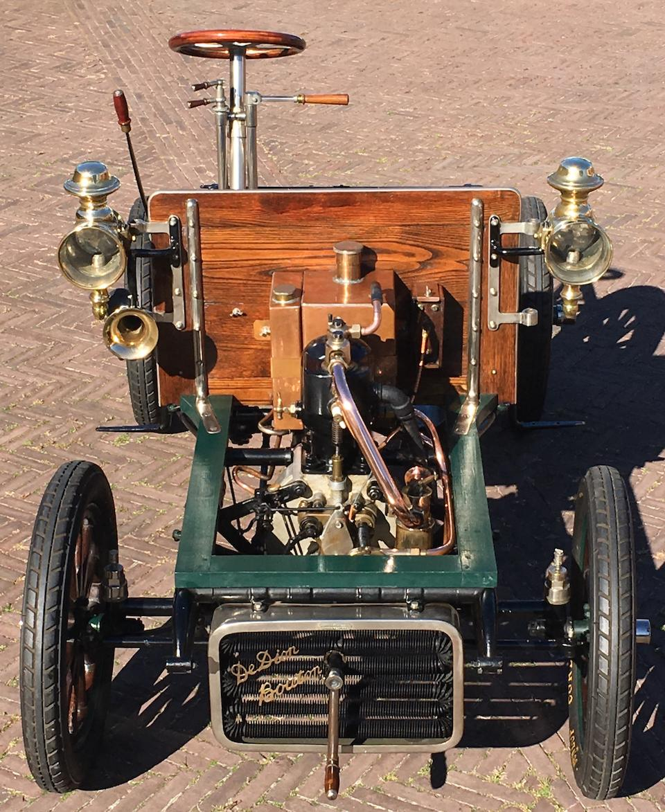 c.1903 De Dion-Bouton 8hp Single-cylinder Rolling Chassis and Engine