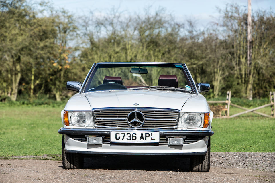 1989 Mercedes-Benz 420 SL Convertible with Hardtop  Chassis no. WDB1070472A099206