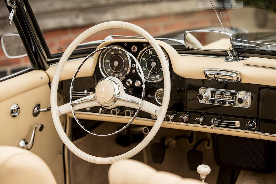 1961 Mercedes-Benz 190 SL Convertible  Chassis no. 121.042-10-024129