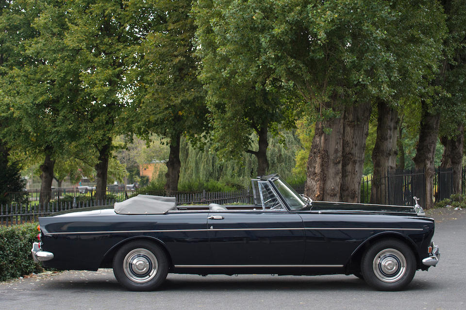 1966 Rolls-Royce Silver Cloud III Drophead Coupé  Chassis no. CSC81C