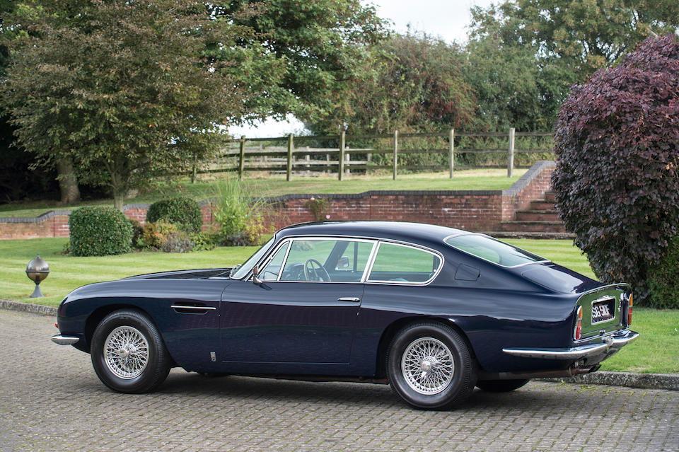 1967 Aston Martin DB6 4.2-Litre Sports Saloon to Vantage specification  Chassis no. DB6/3307/R