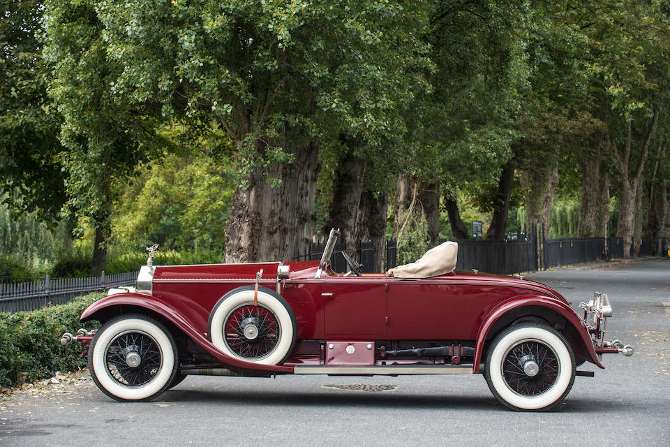 1926 Rolls-Royce 40/50hp Silver Ghost 'Piccadilly' Roadster  Chassis no. S295PL