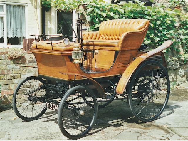 1899 Star 3½hp Single-cylinder Vis-à-Vis