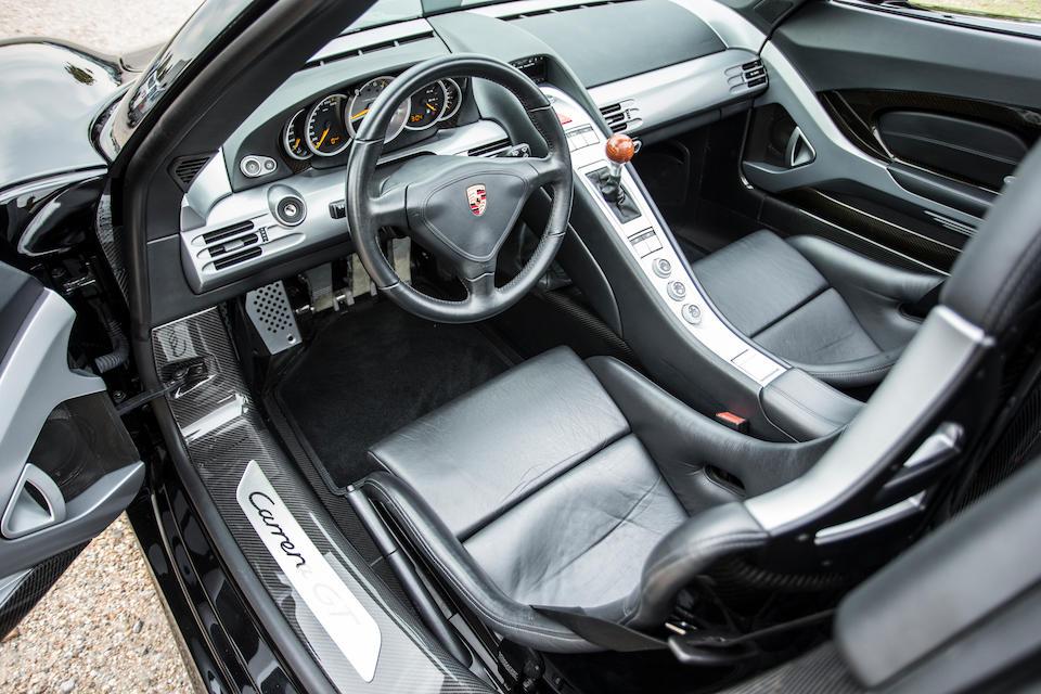 2004 Porsche Carrera GT  Chassis no. WPOCAZ9804L001040