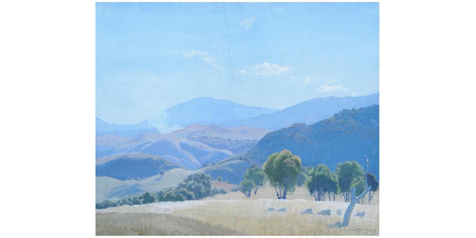 Elioth Gruner (1882-1939) Rolling Hills, 1934