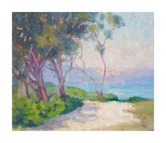 Ethel Carrick Fox (1872-1952) Rose Bay, Sydney Harbour, c.1915