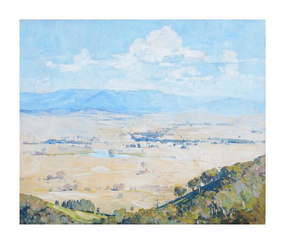Arthur Streeton (1867-1943) Melba's Country, 1936