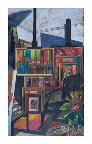 Roy De Maistre (1894-1968) Studio Interior