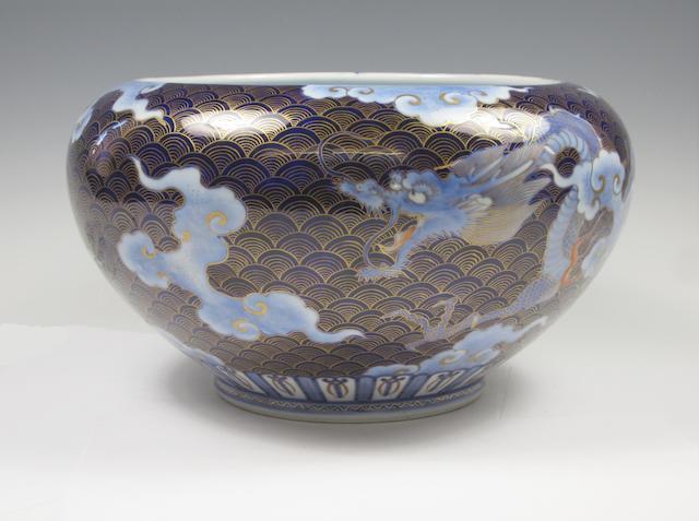 A Fukugawa fish bowl Meiji/Taisho
