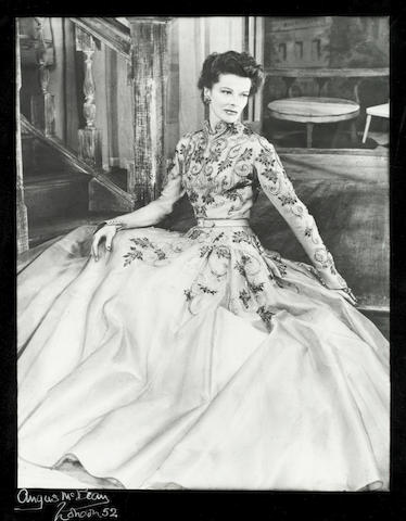 Angus McBean (Welsh, b.1904 – d.1990): Katharine Hepburn in 'The Millionairess', London, 1952,
