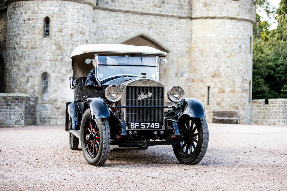 1924 Stanley 750B 20hp Tourer  Chassis no. 24098