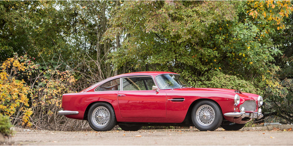 1960 Aston Martin DB4 'Series II' Sports Saloon  Chassis no. DB4/474/R