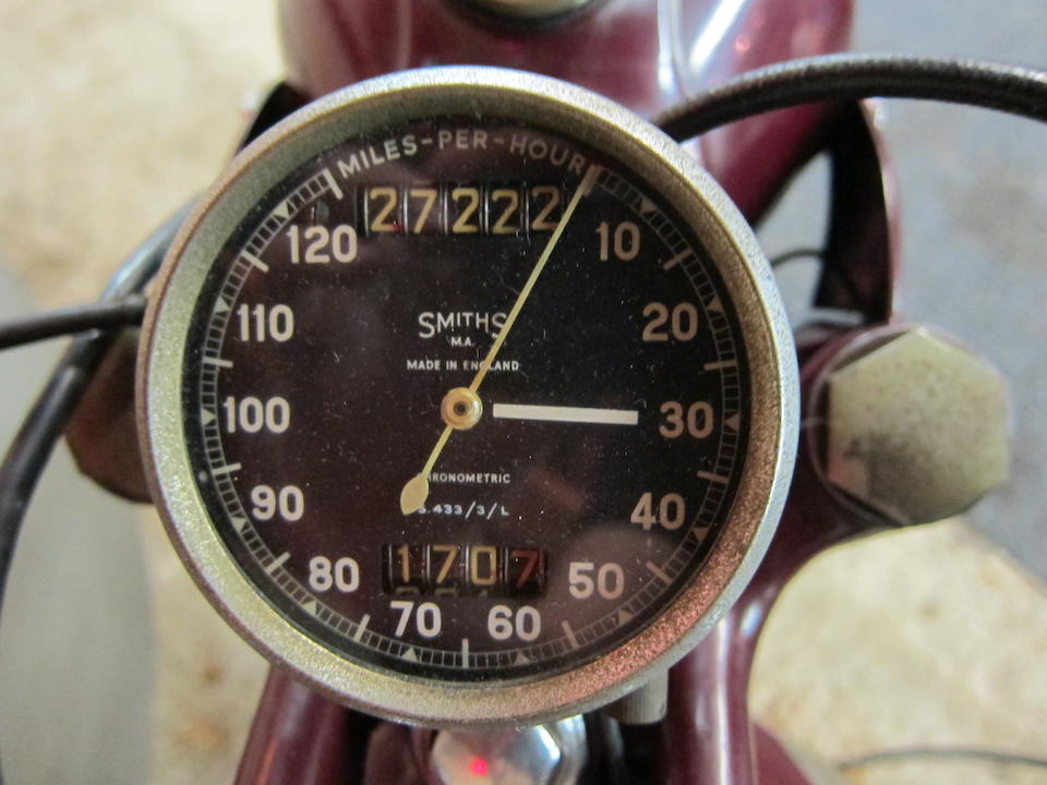 Property of a deceased's estate,1952 BSA 249cc C11 Motorcycle Combination Frame no. BC10S 812 (see text) Engine no. BC11 1489