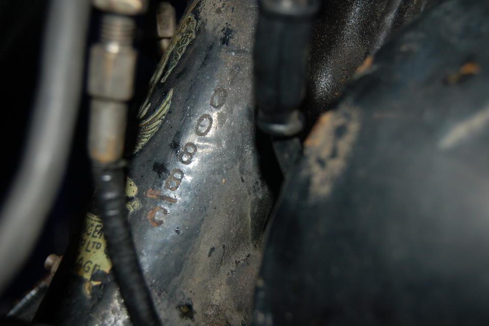 1951 Vincent 499cc Comet Motorcycle Combination Frame no. RC/1/10088C Engine no. F5AB/2A/8188