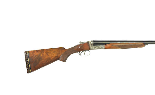 A 10-bore boxlock ejector wild-fowling gun by Centaure, no. 13076