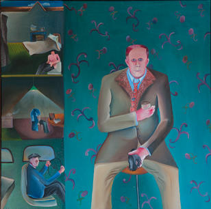 Bhupen Khakhar (India, 1934-2003) Man in Pub Man in Pub