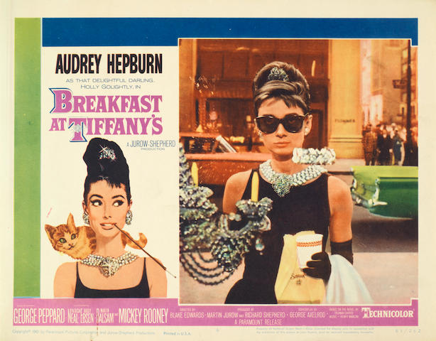 A Breakfast At Tiffany's, Paramount Pictures, 1961,