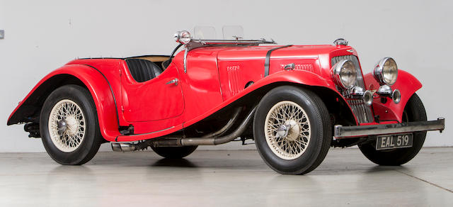 1938 Aston Martin 2.0-Litre 15/98 Sports Tourer  Chassis no. D8/872/SO