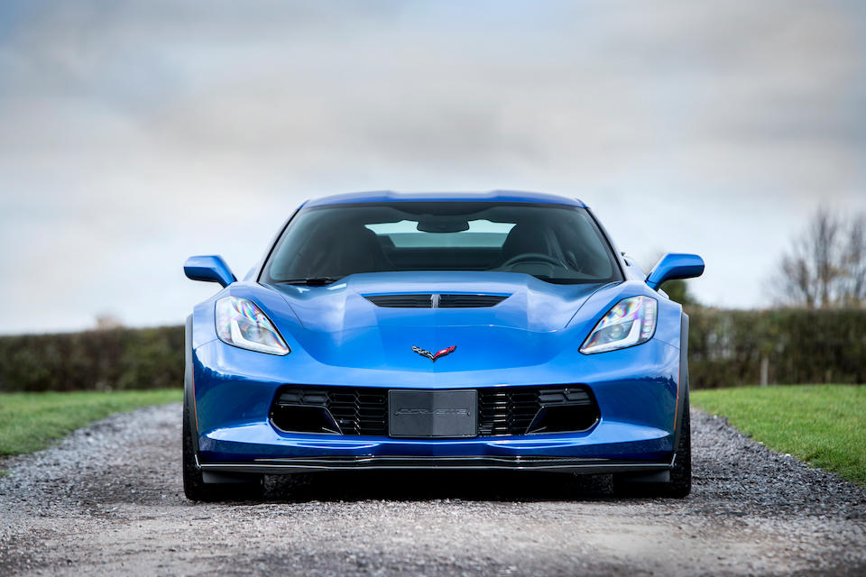 2015 Chevrolet  Corvette Z06 Coupé with Z07 Performance Pack  Chassis no. 1G1YN2D63F5603852