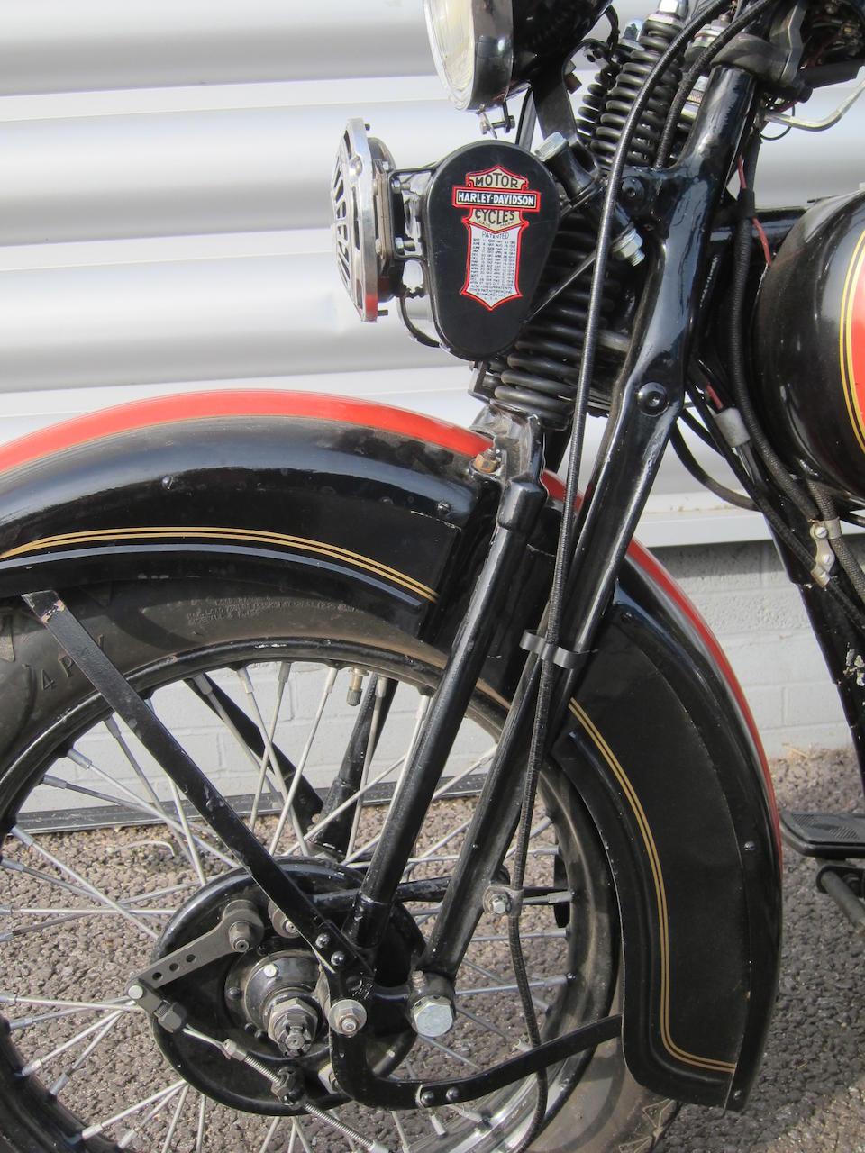 1936 Harley-Davidson 74ci VD Frame no. 36VD4734 Engine no. 36VD4734