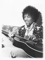 Jimi Hendrix: An Epiphone FT 79 acoustic guitar, 1951,
