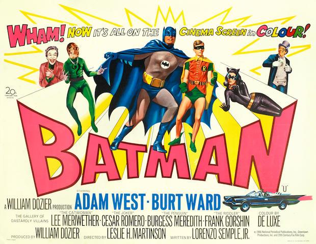 Batman, Twentieth Century Fox, 1966,