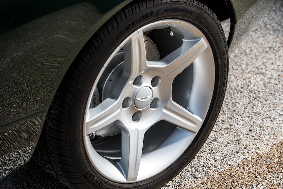 2003 Aston Martin DB7 Zagato Coupé  Chassis no. SCFAE22363K700057