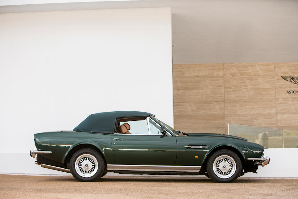 1989 Aston Martin V8 Vantage Volante 'Prince of Wales' 7.0-Litre Convertible  Chassis no. SCFCV81C6KTR15749
