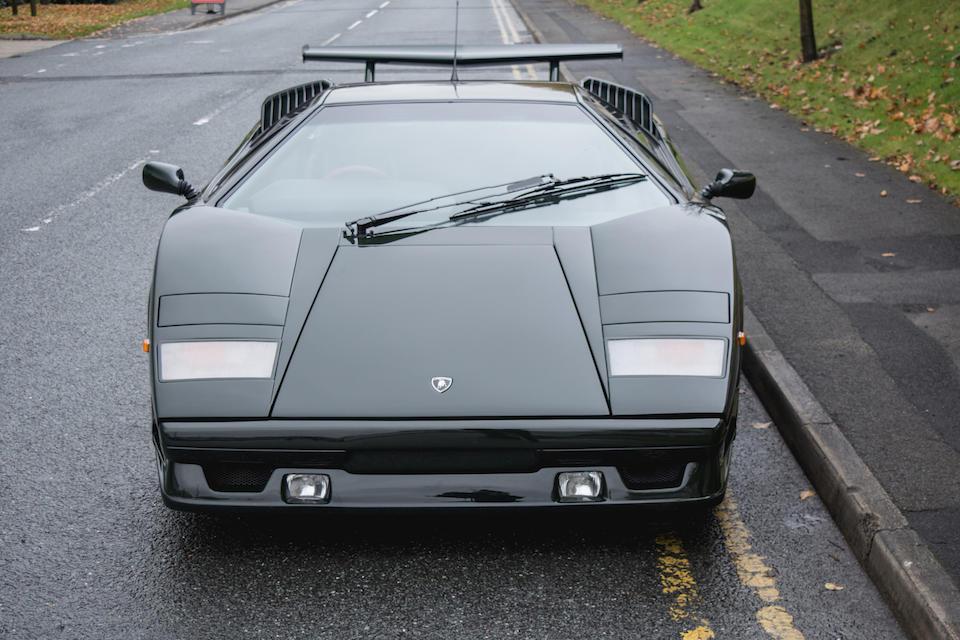 Bonhams 1990 Lamborghini Countach 25th Anniversary Coupe Chassis