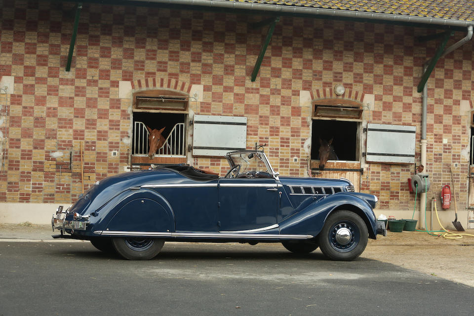 Same family ownership since 1969 ,1939 Renault Viva Grand Sport  Chassis no. 930988