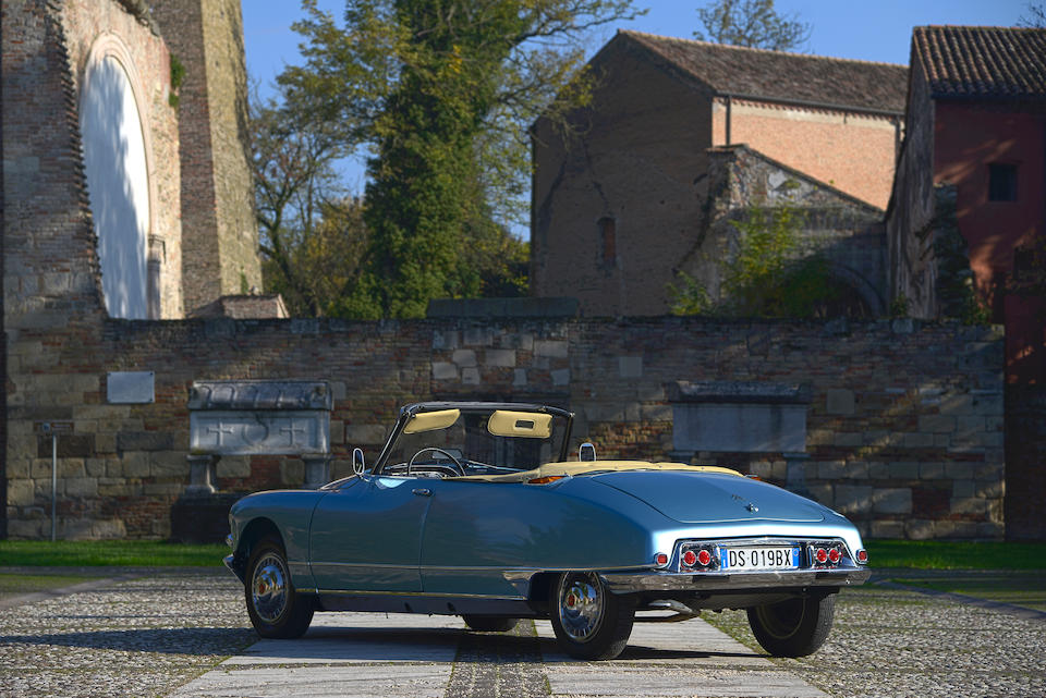 1964 Citroën DS 19 Cabriolet  Chassis no. 440 7056 Engine no. 016 5001484