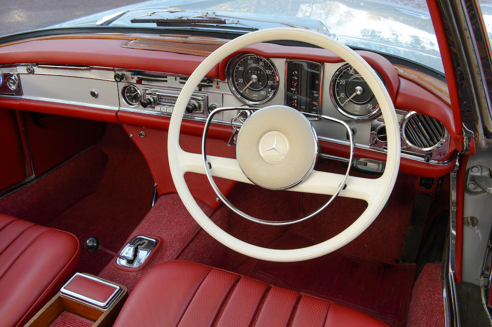 1965 Mercedes 230 SL Convertible with Hardtop