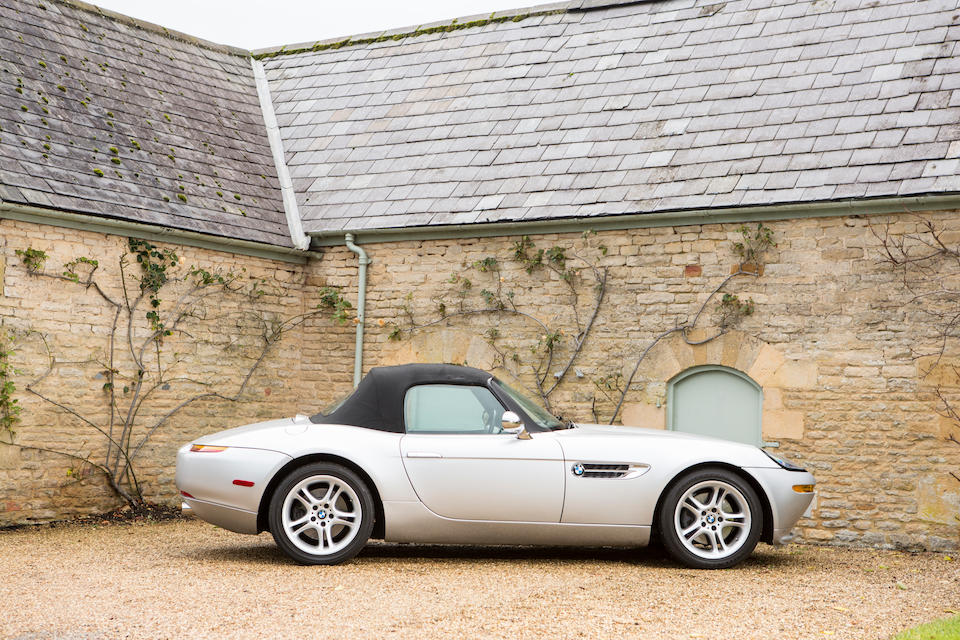 2001 BMW Z8 Convertible with Hardtop  Chassis no. WBAEJ13451AH60797